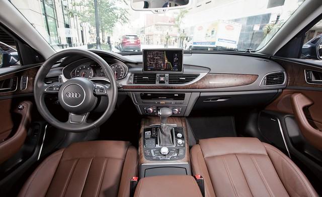 2012 Audi A6 Nougat Brown Interior -2 | Flickr - Photo Sharing!