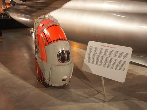 B-58 escape capsule (USAF Museum)