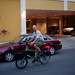 John Greenfield rides a Civia Halsted cycle truck at Cargo Bike Roll Call, June 2012 by Steven Vance