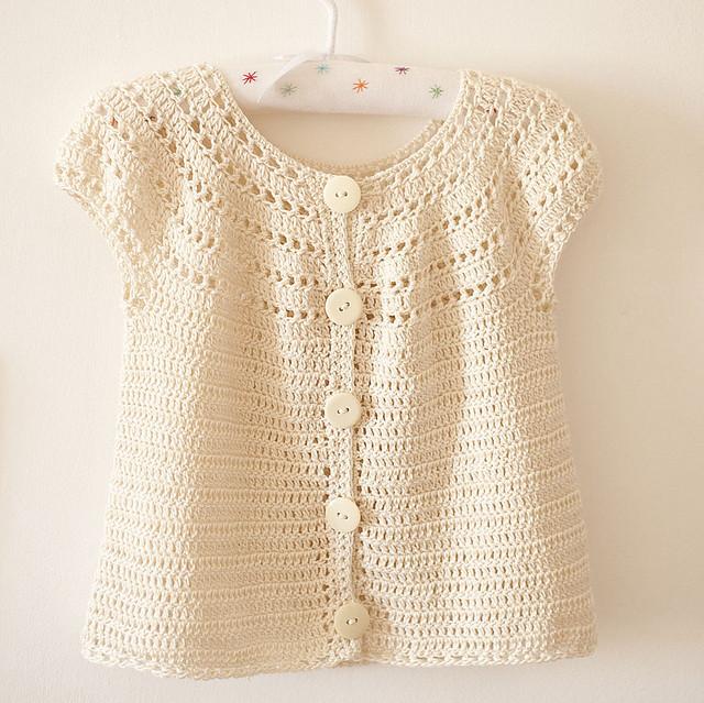 Crochet Cardigan Pattern : Crochet pattern - Sophies cardigan Flickr - Photo Sharing!