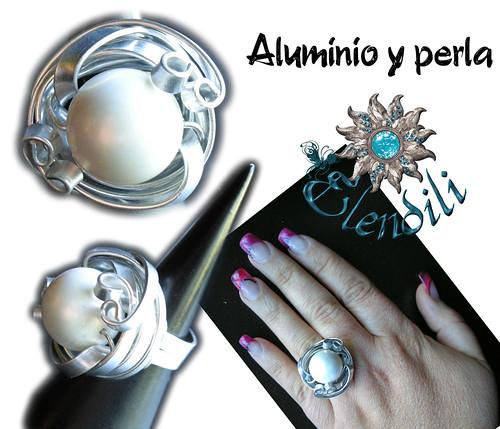 Aluminio plano y perla by **Elendili**