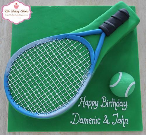 Tennis Cake-2