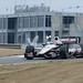 Will Power navigates through the esses during the 2014 Open Test at Barber Motorsports Park