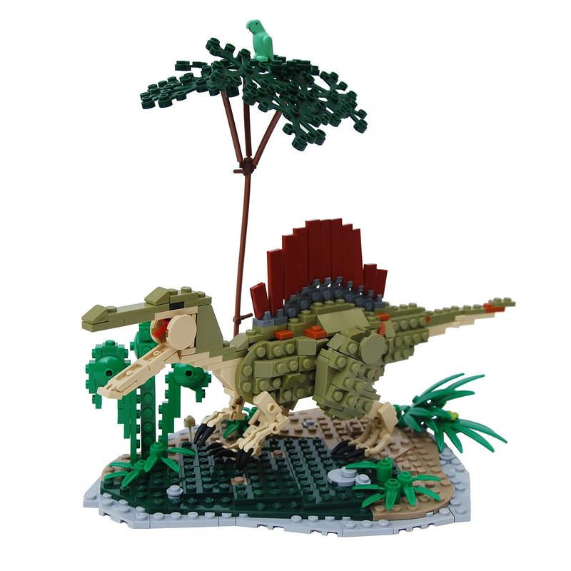 Spinosaurus a lego creation by legopard - Lego dinosaurs spinosaurus ...