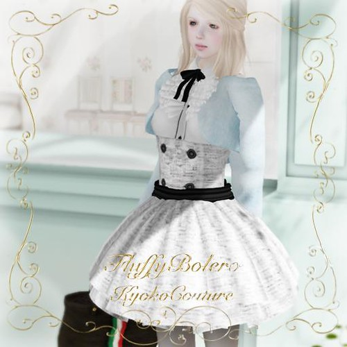 KC*M No.03[fluffy bolero](Blue)