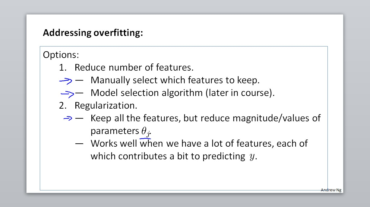 Addressing overfitting