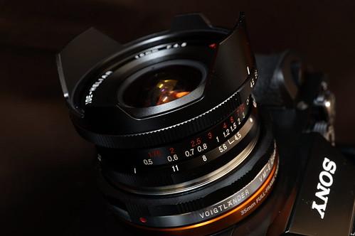 SUPER WIDE-HELIAR 15mm F4.5 Aspherical Ⅱ