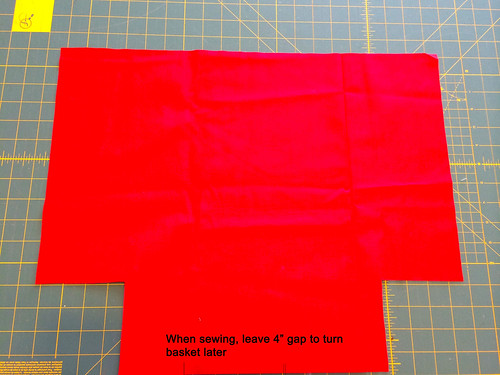 notched lining