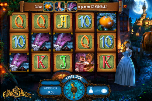 The Glass Slipper - Fairytale Progressive Slot