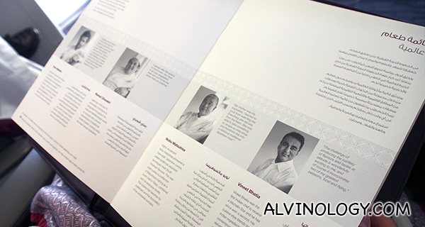 Meet the celebrity chefs!