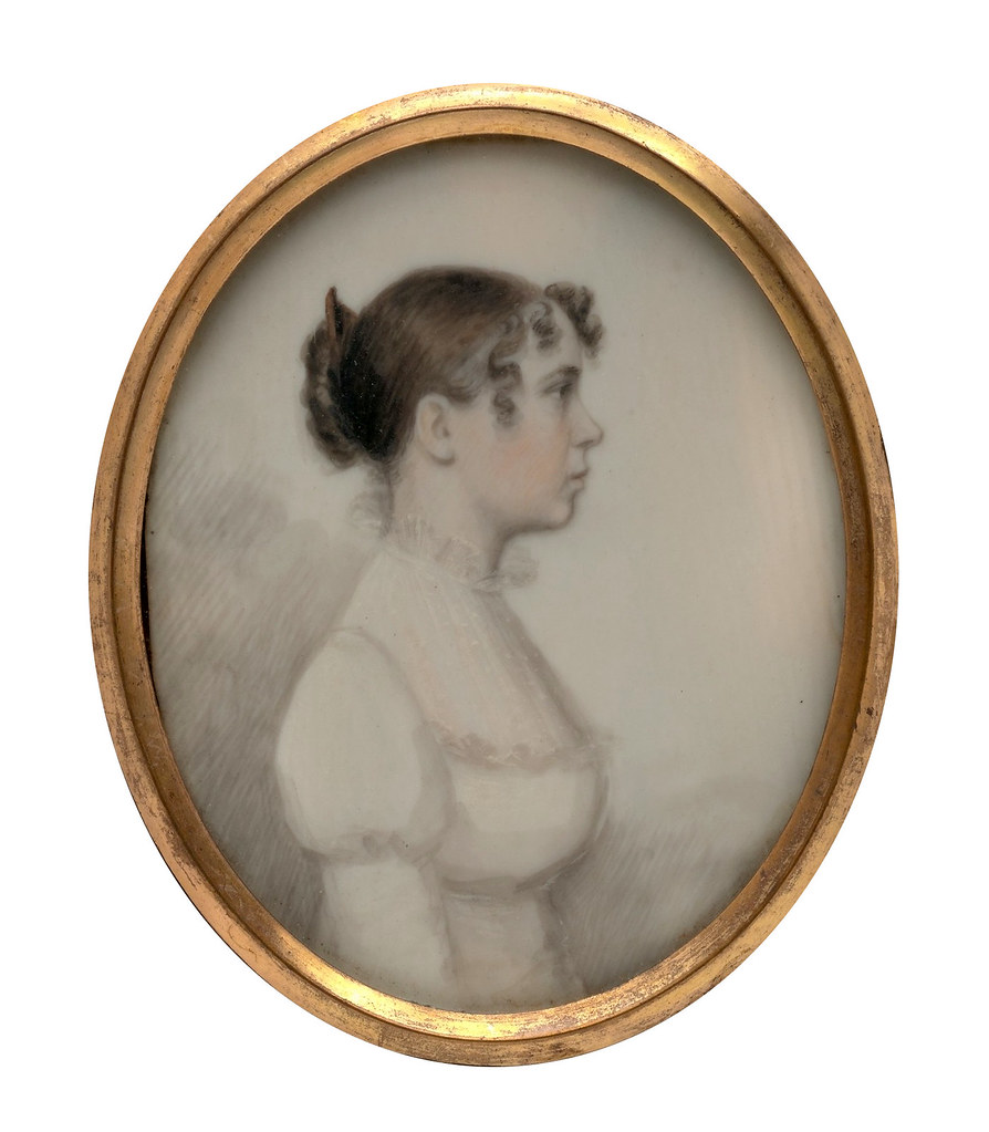 Portrait of a Lady by William P. Sheys, 1813