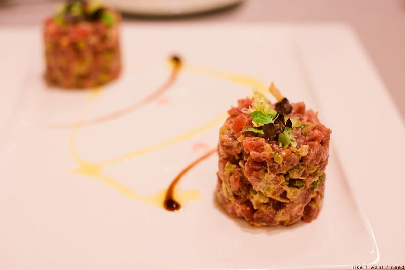 Tuna Tartare, Restaurante Anttonenea
