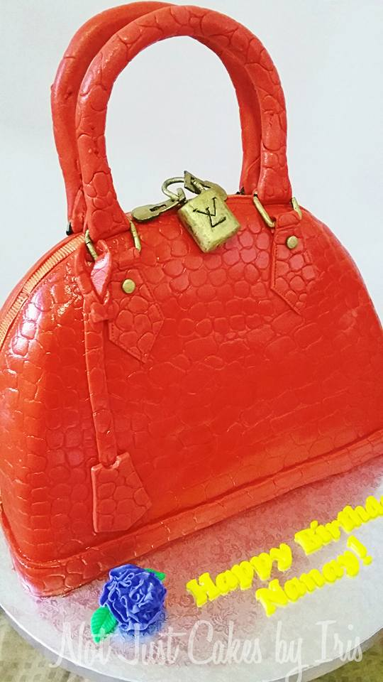 LV Bag Cake by Vincent Vicente