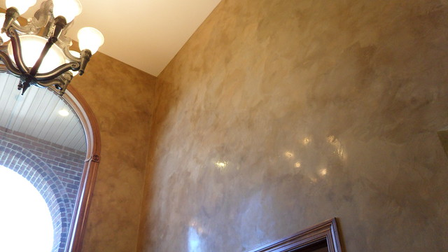 Foyer Paint Finish : Entryway italian venetian plaster bella faux finishes