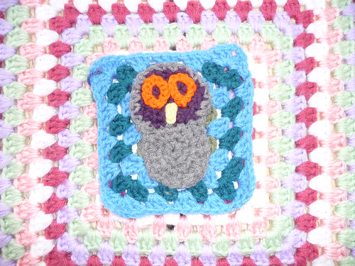 Kay (Conyers, GA, USA) 'Owl' Challenge. I bet this little fella is tired after flying all that way! Thank you Kay!