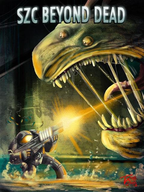 SZC Beyond Dead iPad -Monster robot Studios