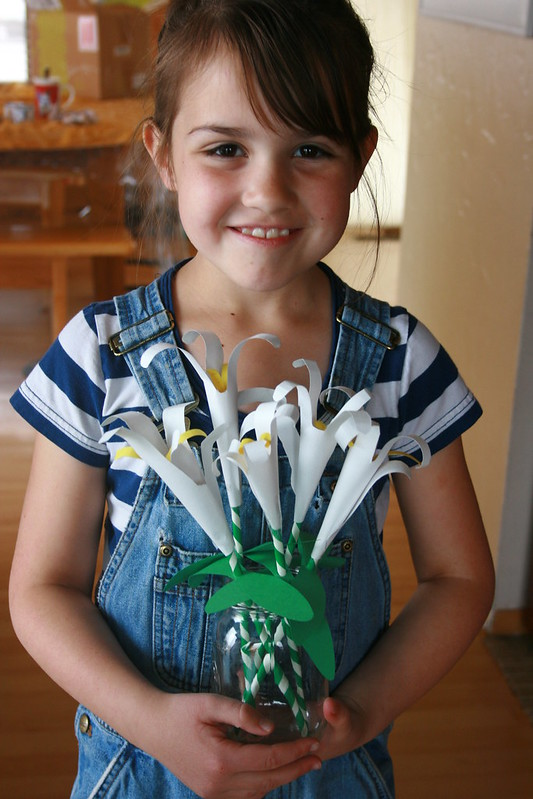 easter lilies craft