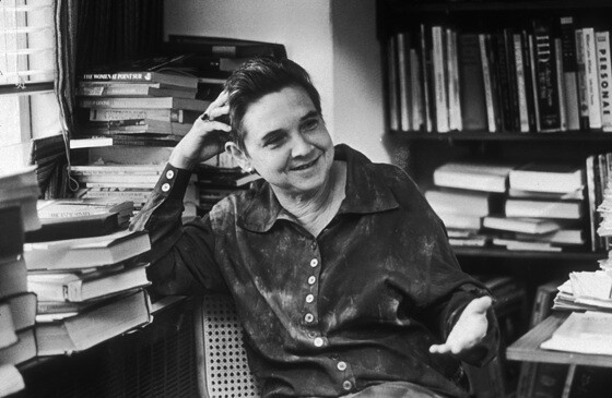 Header of Adrienne Rich (poet)
