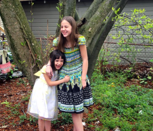 Sisters izzy and Rosie