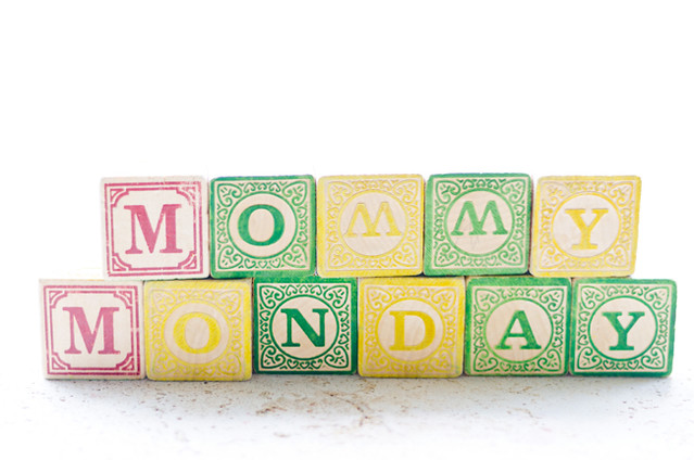 Mommy Monday by Mary Banducci at Sweet Roots