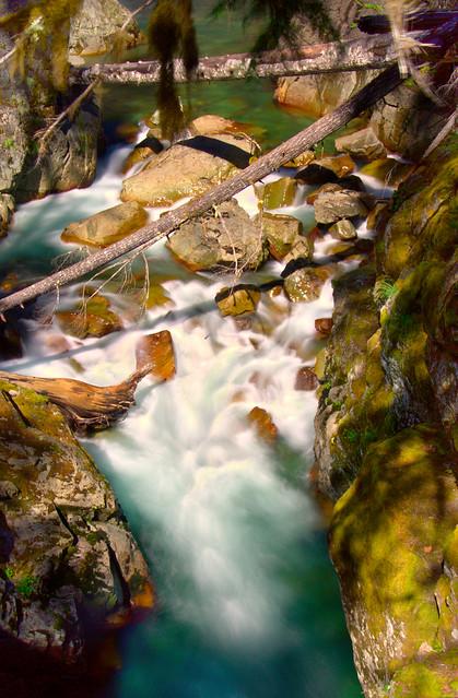 Silver Falls, Mt Rainier National Park, Washington