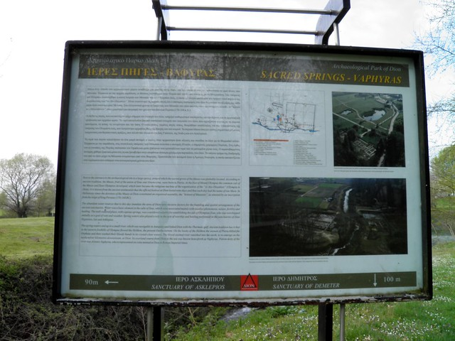 The sacred springs of Ancient Dion