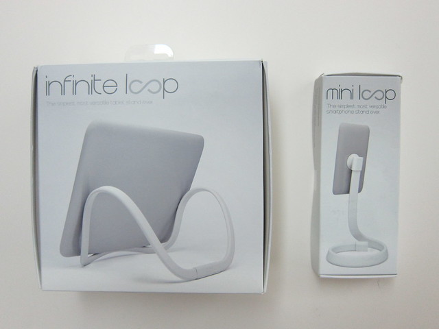 Infinite Loop Tablet and Smartphone Stand - Boxes