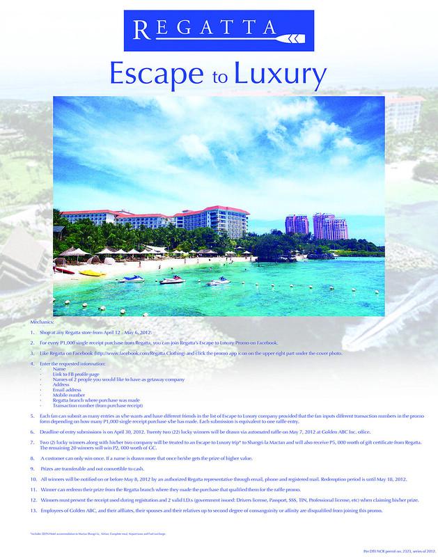 Regatta Escape to Luxury