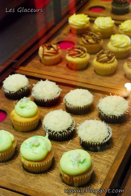 Cupcakes @ Les Glaceurs