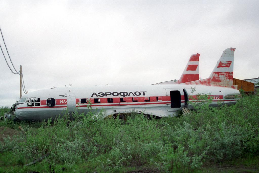 CCCP-61795 IL-14 Aeroflot