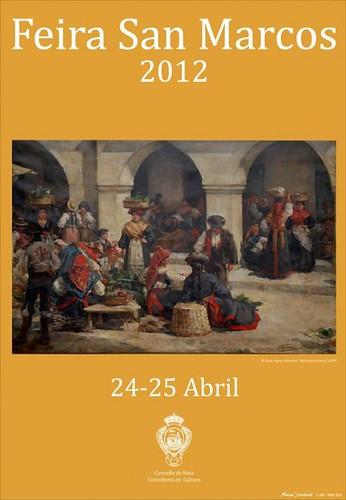 Noia 2012 - Feira de San Marcos - cartel