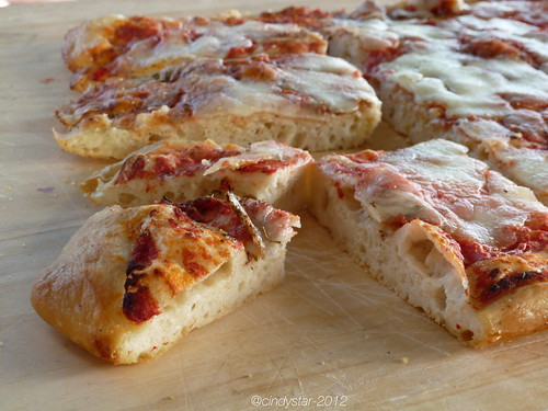 pizza senza impasto-no knead pizza