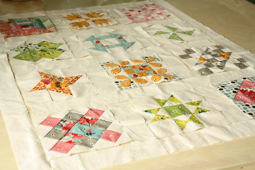 hand pieced quilt blocks...final layout?