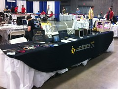 <p>We were in the RobotFest section with our friends from MakerBot, MICA, Hack DC, and the Baltimore Node.</p>