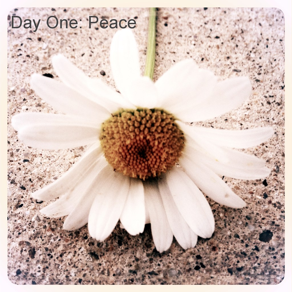 Day One: Peace
