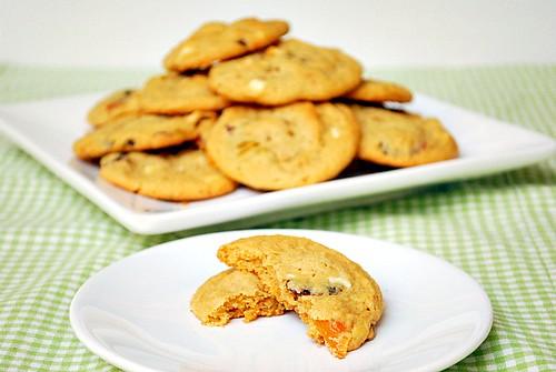 Cranberry Apricot & Pistachio Cookies