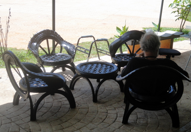 Furniture made from tires Brasilia DF