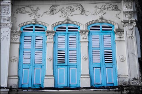 Shuttered Windows, Phuket Town
