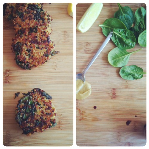 Kale and Quinoa Cakes | Joy the Baker