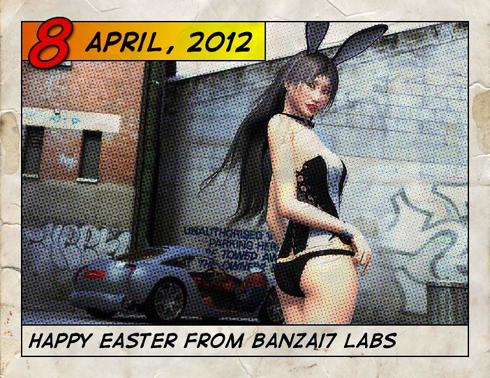 BANZAI7 EASTER