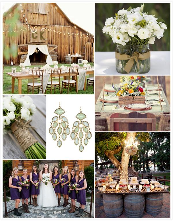 Kendra Scott Designer Bridal Jewelry - Backyard Country Wedding