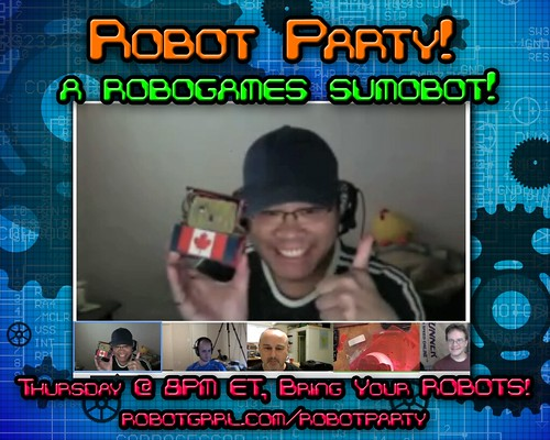Robot Party April 5, 2012