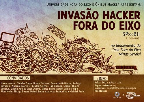 Invasão Hacker Fora do Eixo #OnibusHacker