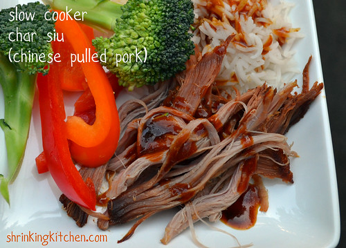 Slow Cooker Char Siu - Chinese Pulled Pork