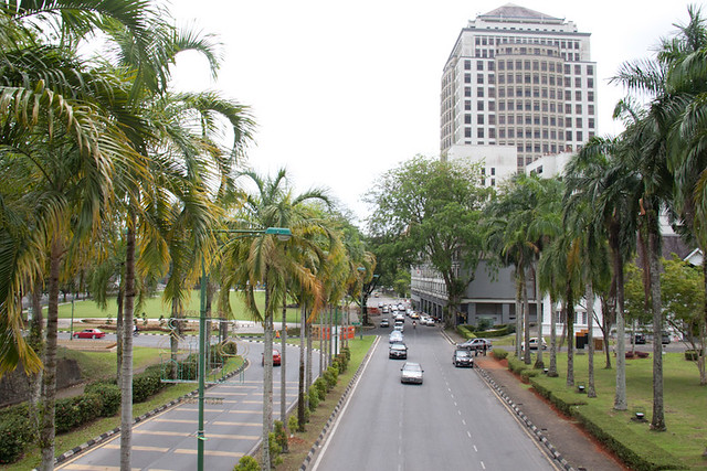 Downtown Kuching