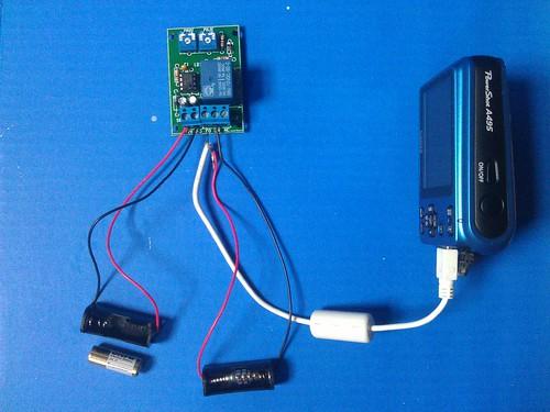 555 dual camera triggering setup