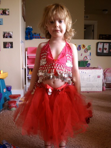 My little belly dance princess