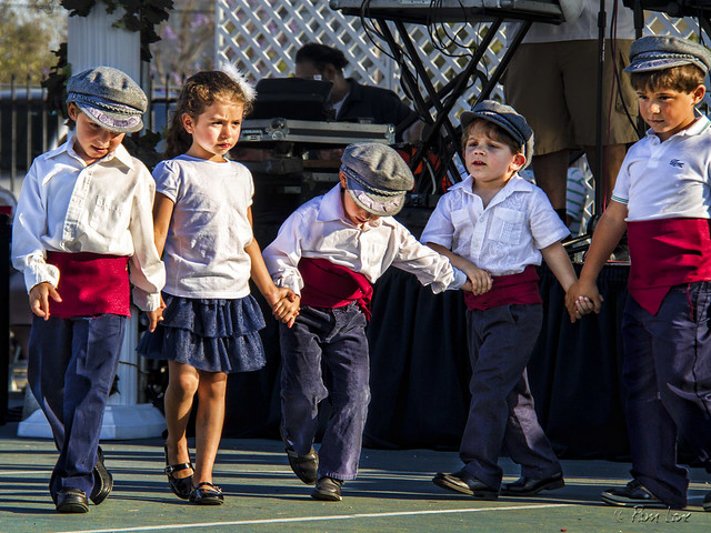 Dancing at the Greek Food Festival 3