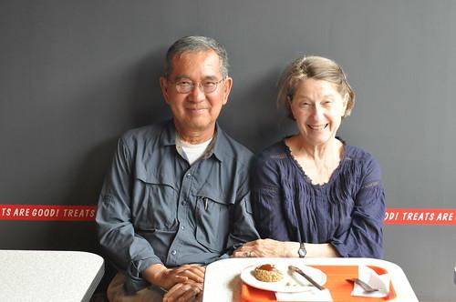 Kim's parents