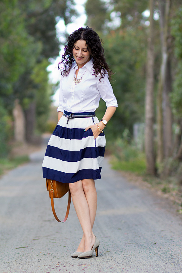 Wide Stripes and Tips for Risky Shopping